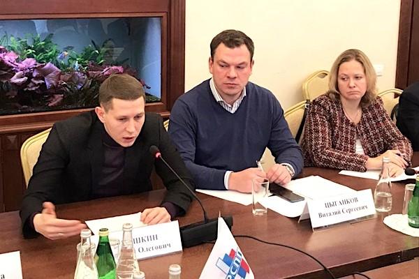 Дмитрий Шишкин провел первое заседание Комитета по швейной промышленности Союзлегпрома